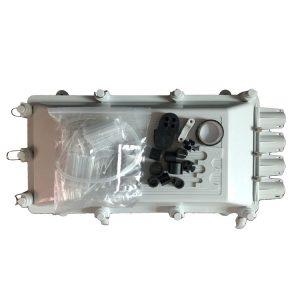 Telefonica Puertos de 256 n cleos de fibra optica de empalme tipo horizontal para el cierre de cable de fibra o ptica