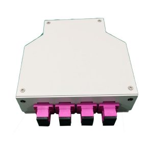 Wall mount 12 ports DIN rail fiber optic terminal box 12 core 24 core for FTTH
