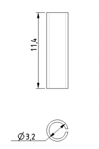 sleeve dimension of telefonica sc coupler