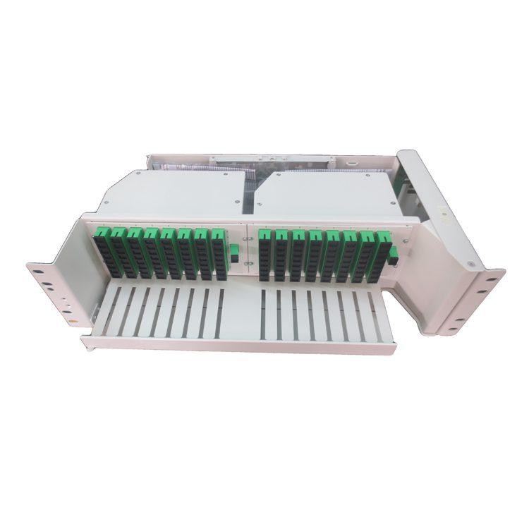 19inch 128 ports 3u swivel modular splitter patch panel
