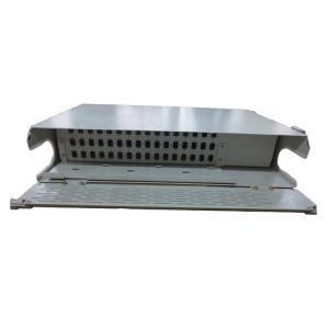 19inch 2U 48 ports sc simplex swing-out fiber optic patch panel with front door for Vodacom