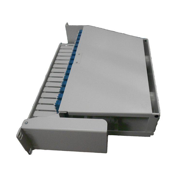 19inch 192 ports 3u swivel fiber optic lc patch panel
