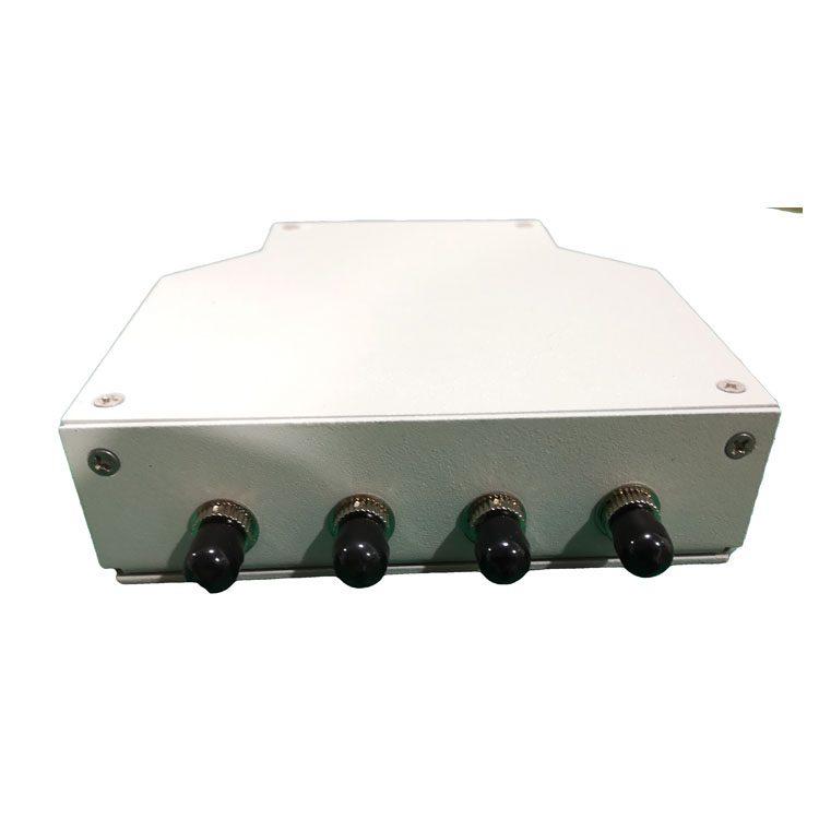 12 core DIN rail mount fiber patch panel