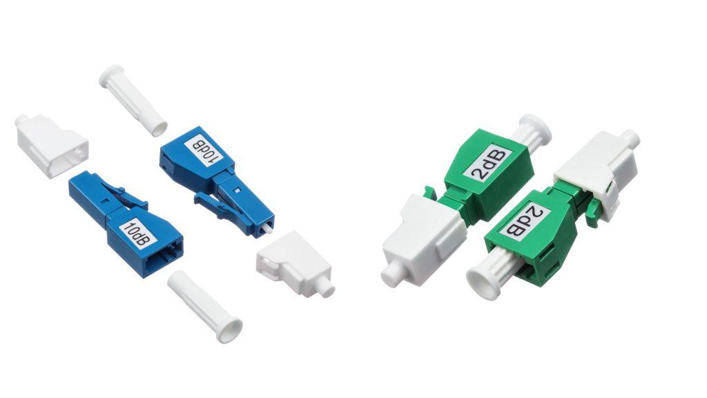 LC male to LC female fixed optical attenuator