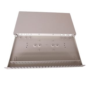 Opterna 19inch 1U 24 ports SCPC simplex Adapter sliding Patch panel