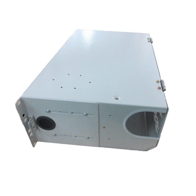Opterna 19inch 3U 144 ports sc quad adapter swing-out fiber optic patch panel