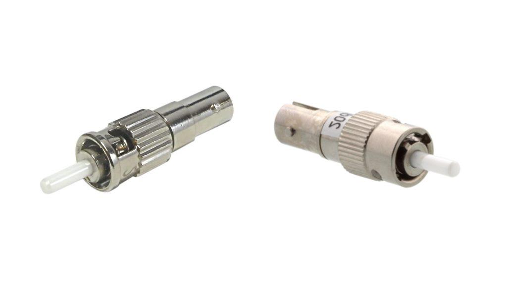 ST male to ST female fixed optical attenuator