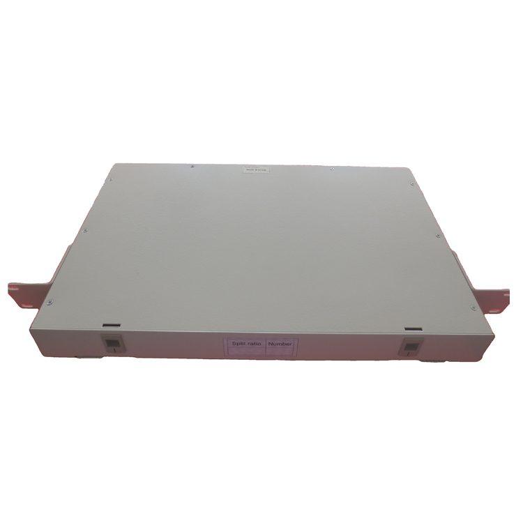 STC 19inch Sliding LCAPC Optical Splitter Patch Panel