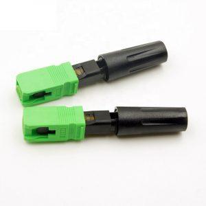 FTTH Fiber Optic Sc APC Fast Quick Connector