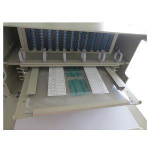 StarHub 4U 19inch 96 fibers optic splice and terminal patch panel