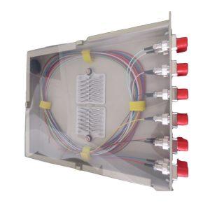 Telecom Egypt 19inch 3U 144 ports FC Modular type sliding patch panel with glass door