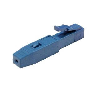 Blue fiber optic lcpc fast connector for telecommunication