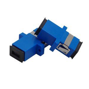 SC Fiber Optic Adapter SCPC SM Flange Singlemode Simplex SC-SC Coupler Wholesale