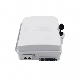 12 port Fiber Terminal Box for Mini PLC Splitter Outdoor Optical Distribution Wall Mount Box