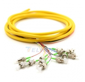 FCAPC Fiber Optic Pigtail WITH 12 COLOR