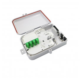 Fiber Optic Terminal Box 16 outlet ports Distribution box for Pigtails
