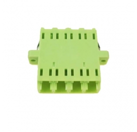 LC QUAD Lime Green OM5 Adapter