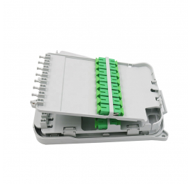 Outdoor 16 Core FTTH Pole Mounted Fiber Optic Splitter Distribution Box
